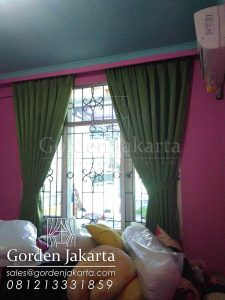 gorden blackout murah warna hijau